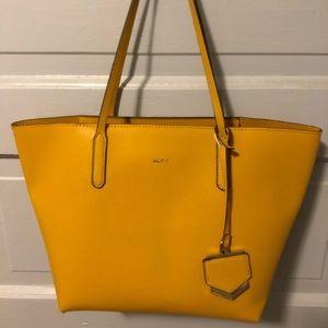 Yellow Aldo tote bag